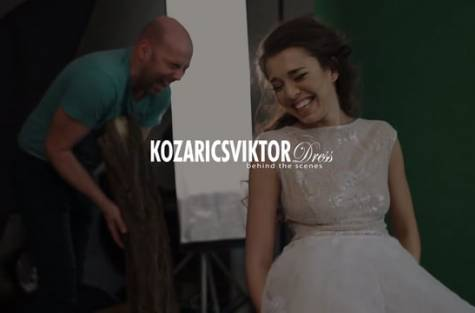 Behind the scenes: Kozarics Viktor Dress